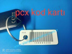 honda pcx kod kartı